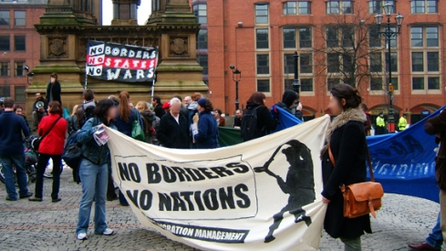 Rally in Albert Square